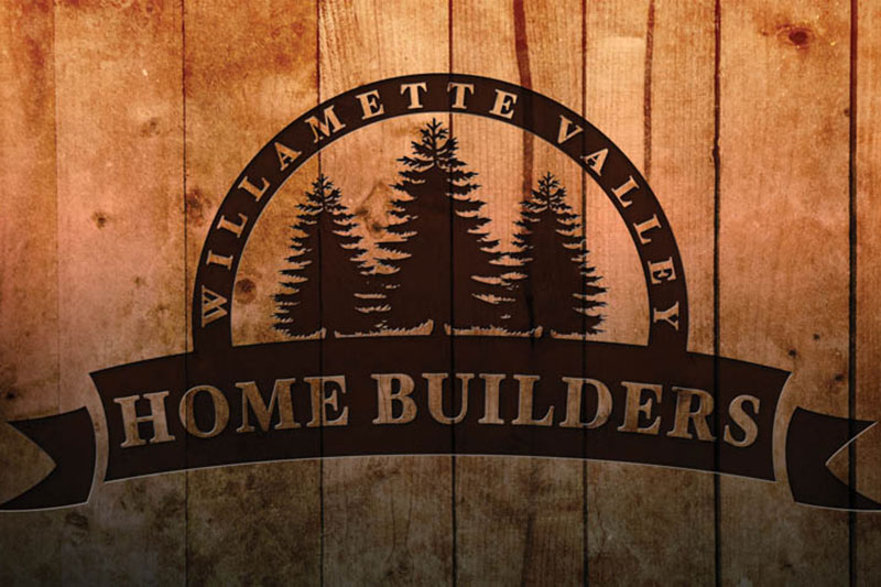 Willamette Valley Home Builders Logo Design at Xtreme Grafx in Albany, Oregon