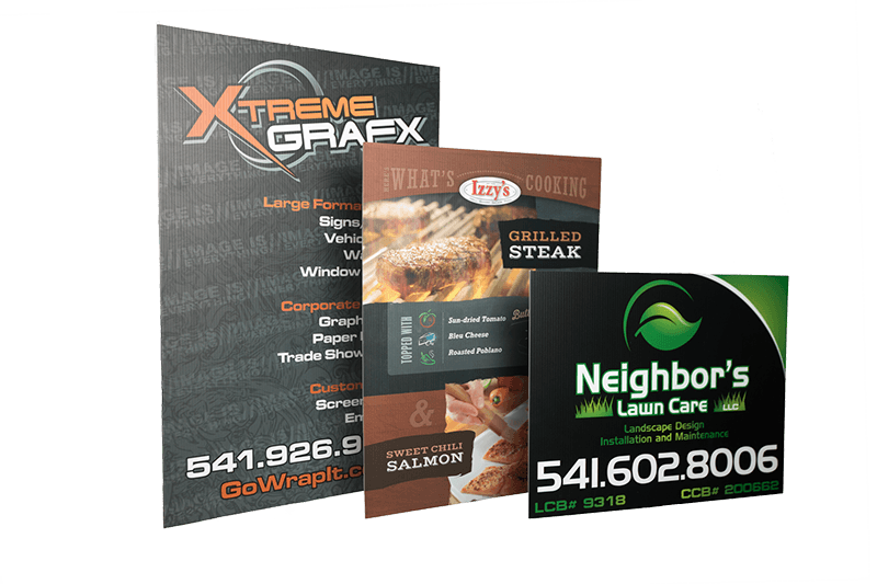 Signs & Banners at Xtreme Grafx in Albany, Oregon